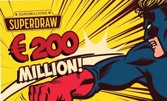 Euromillions Jackpot Record di €200 Milioni